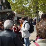 Place du Chatel explications sur la justice médiévale