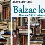 Balzac lecteur – Journée d'études