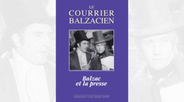 Le Courrier Balzacien: n° 47 – avril 2019