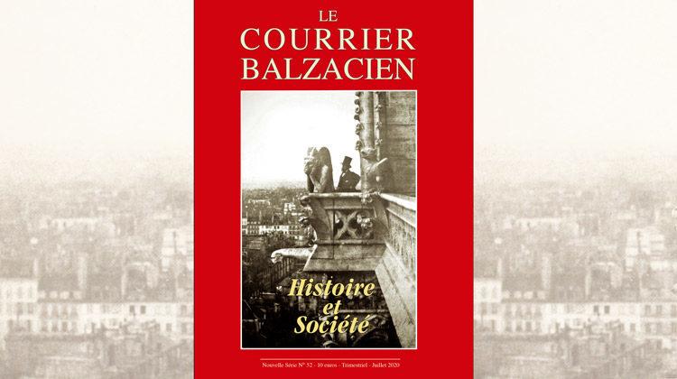 Le Courrier Balzacien : n° 52 – Juillet 2020